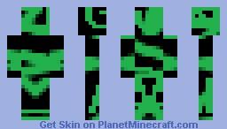 Redstone Virus Minecraft Skin