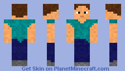 Upgraded Steve Minecraft