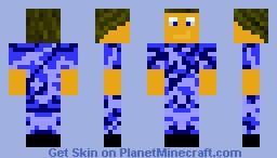 Urban Soldier Minecraft Skin