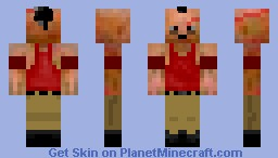 Vaas ~Far Cry 3 Minecraft Skin