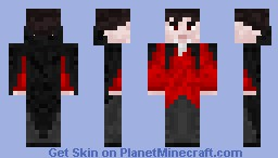 Vampire [Halloween Special] better in 3D Minecraft Skin