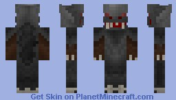 The Vampyr (3D) + A short description Minecraft Skin