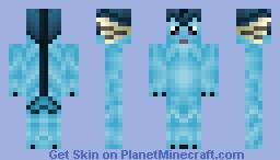 Vaporeon Pokemon Eevee Evolution Minecraft Skin