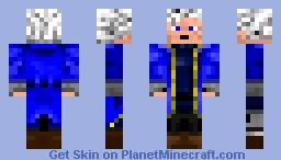 Vergil from DMC3 Minecraft Skin