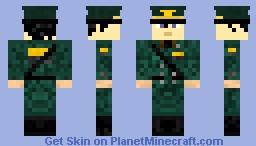 Versail Military Officer Minecraft Skin