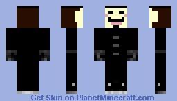 V for Vendetta- V Minecraft Skin