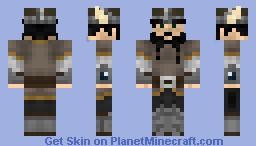 Ragnarok the Fearless Minecraft Skin