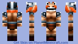 Viking Minecraft Skin