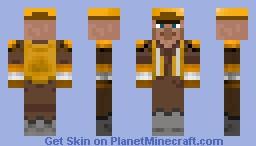 Villager Builder Minecraft Skin