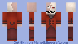 Crimson Jack [Contest Entry] [Moving Mouth and Eyes!] Minecraft