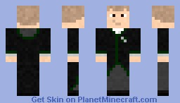 Vincent Crabbe - Slytherin Minecraft Skin