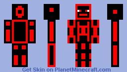 Red Vine Minecraft Skin