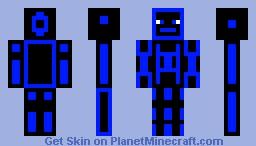Blue vine Minecraft Skin