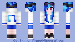 Vinyl Scratch [skin series] Minecraft