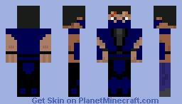 2nd skin by virgiux: Ultimate ninja! Minecraft