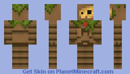 creepy virus thingy Minecraft Skin