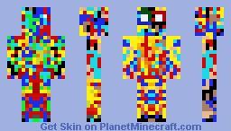 Virus In Skin Creator! Minecraft Skin