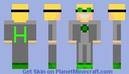 Voltz Scientist Minecraft Skin