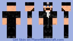 "Peace Officer A.K.A. ""Copper"" Minecraft Skin"
