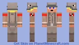 WW2 German Soldier Minecraft Skin