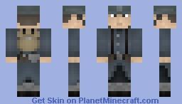WWI French Soldier Minecraft Skin