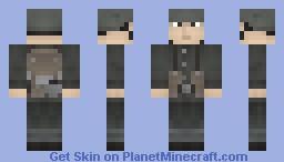 WWI German Soldier Minecraft
