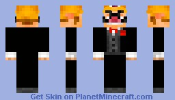 Wario in a tuxedo - ntx Wedding Uniform :) Minecraft