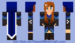 Girl Mage Minecraft Skin