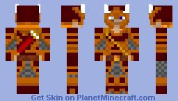 The Slayer / Warrior ReDone Minecraft Skin