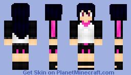 ~Ace~ Kanon Mizushiro (Request from warriorxxxDDD) Minecraft Skin