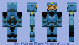 Washington (on team Blue) Minecraft Skin