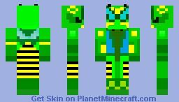 Beast Wars Waspinator Minecraft Skin