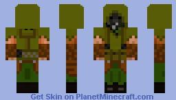 Wasteland 'Stalker' Minecraft Skin