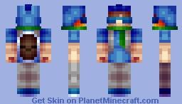 Water Pokemon Trainer [Requested] Minecraft Skin