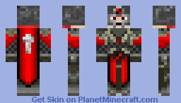 WEston In Armour With a Helmet Minecraft Skin