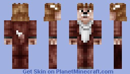 What Does the Fox Say? Minecraft Skin