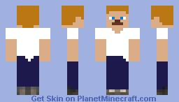 A Simple T-Shirt Minecraft Skin