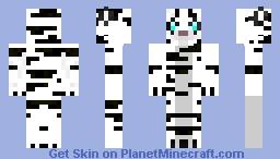 White-Snow-Tiger Minecraft Skin