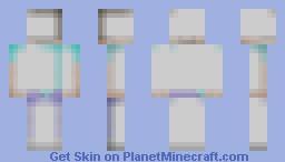 White White White Minecraft Skin