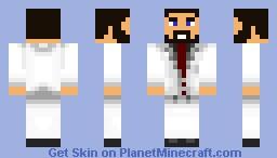 White Suit Minecraft Skin
