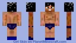 LMFAO Guy! In Speedo! Minecraft Skin
