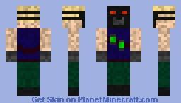 Chem Warfare Minecraft Skin
