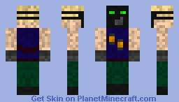 Pyro-Tech Minecraft Skin
