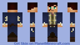 William Davidson [Colonial] Minecraft Skin