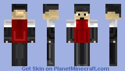 Wilson The Gentleman Scientist from Don't Starve Minecraft Skin