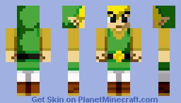 Link Wind Waker Minecraft Skin