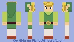 Wind Waker Link Minecraft Skin