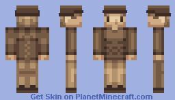 Winter - PixelBit's Palette Challenge Minecraft Skin