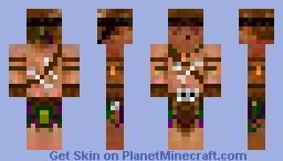 The Blind WitchDoctor [HD Skin] [TO] Minecraft Skin