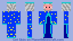 The Wizard Minecraft Skin